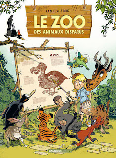 Le Zoo des animaux disparus, une BD des éditions Bamboo