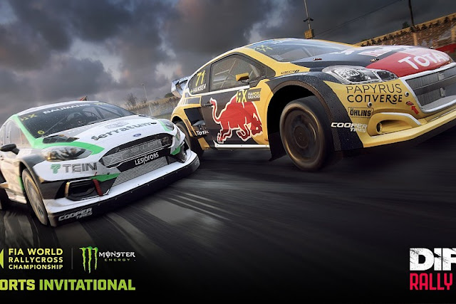 Motorsport Games, Codemasters and FIA World Rallycross Championship presented by Monster Energy partner to create the World RX Esports Invitational Championship