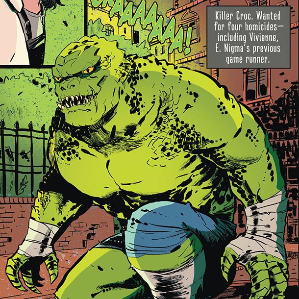 Whistle: A New Gotham City Hero - Croc