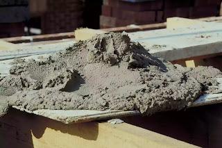 Portland cement mortar