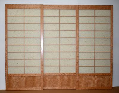 Shoji screens room divider
