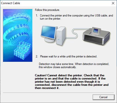 Cara Install Printer Canon Pixma iP2770 Langkah ke 5