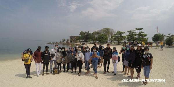 open trip jelajah tiga pulau kepulauan seribu