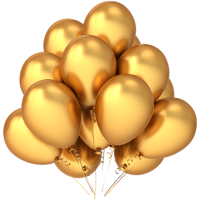 Gold balloons illustration, Balloon Gold graphy illustration, Gold balloon, gold Coin, color, gold Label png free png