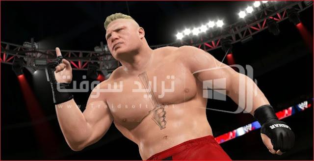 لعبة wwe raw لمصارعة الحرة مجاناً برابط مباشر