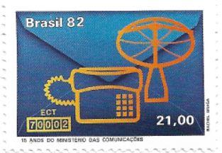 Selo 15 Anos do Ministério das Comunicações