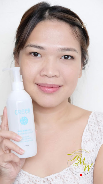 a photo of Creer Micellar Cleansing Water Review