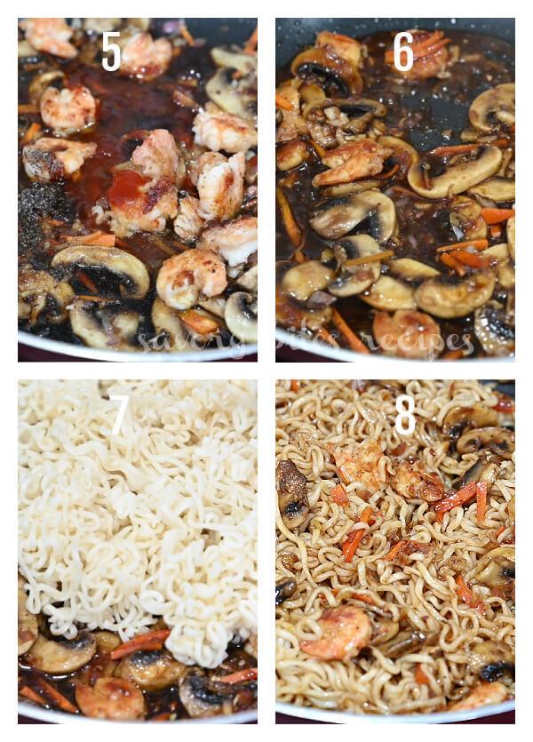 how to prepare sesame garlic noodles