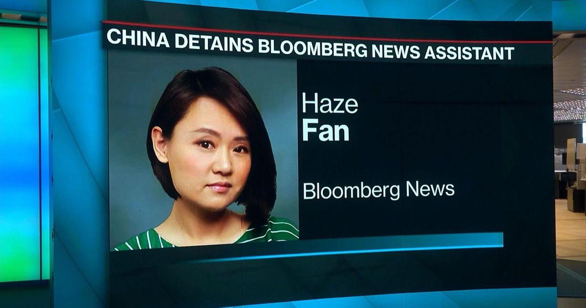 haze fan bloomberg arrest chinese
