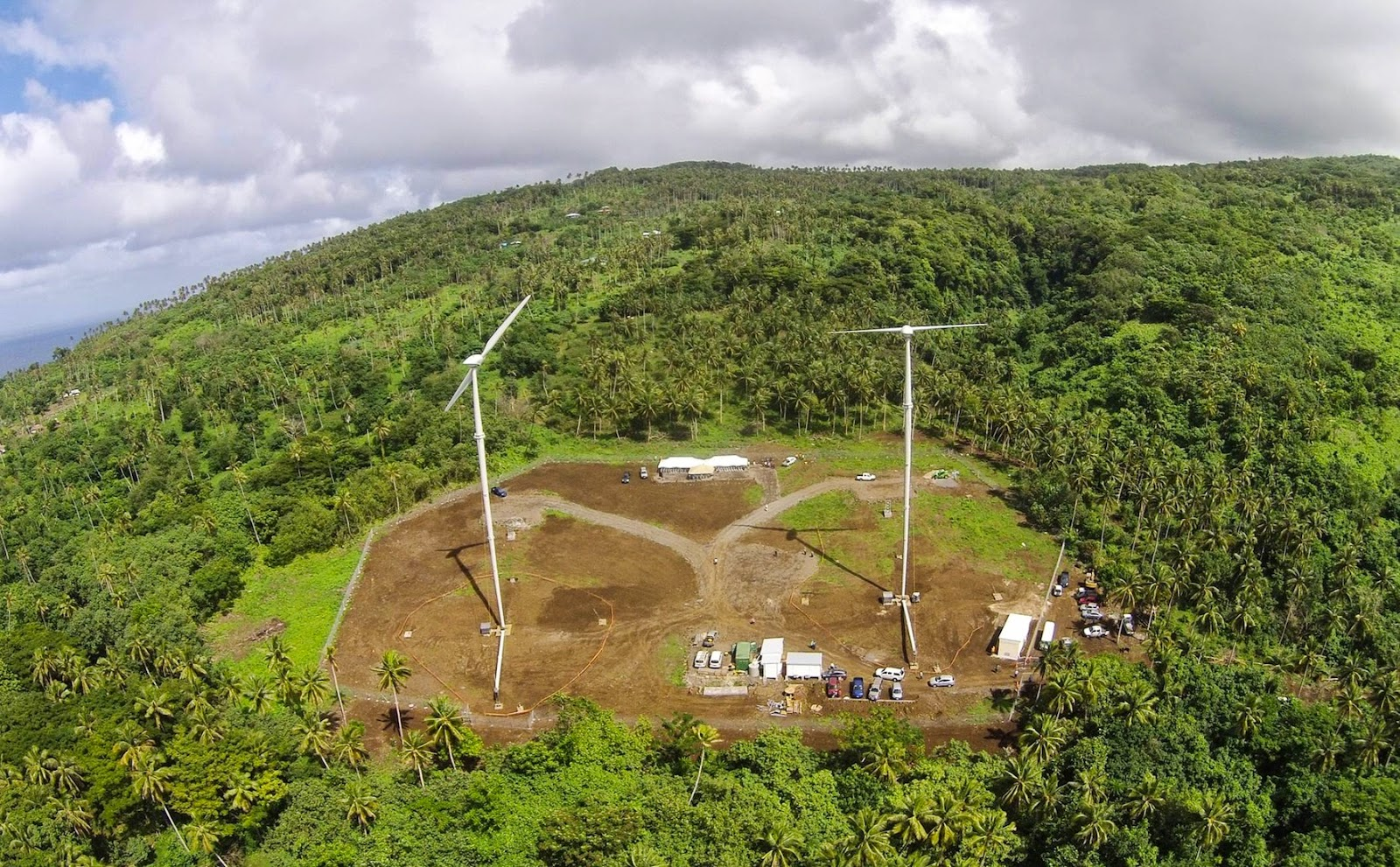 First Wind Farm On The Pacific Island Nation Of Samoa Reve News Of The Wind Sector In Spain And In The World - 43+ Social Benefits Of Wind Energy Pics