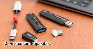Sesuaikan Kapasitas Flashdisk Dengan Kebutuhan