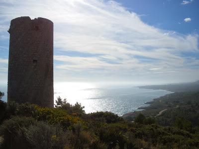 Torre de Badun Parc natural de la Serra d'Irta Peñiscola Costa del Azahar Castellon