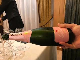 Rosé Label Lanson