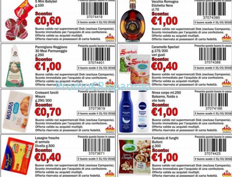 Buoni omaggio supermercati for Buoni omaggio