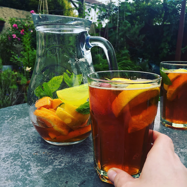 pimms time in the garden!
