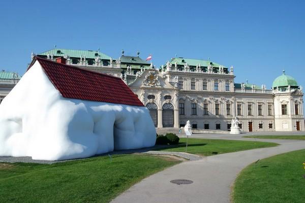 vienne belvedere fat house erwin wurm