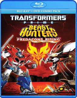 Transformers Prime: Cazadores de Bestias [BD25] *Con Audio Latino *Bluray Exclusivo