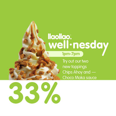 llaollao Malaysia 33% Discount Promo Every Wednesday