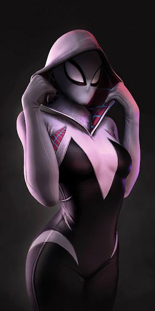 Hình nền nữ người nhện Gwen Stacy