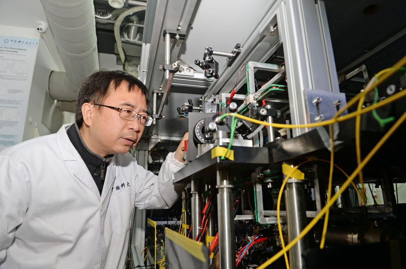 Chinese Scientists Set Milestone In Quantum Tech