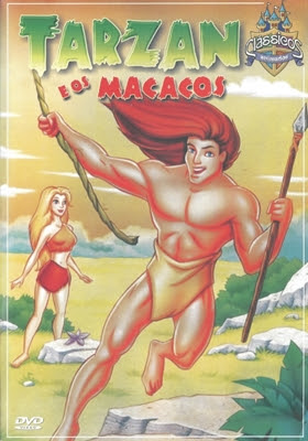 Tarzan e os Macacos Dual Áudio 1998 - DVD-RIP 480p