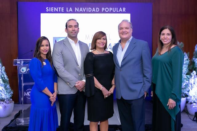 Clary Aquino, Mariano González, Austria Gómez, Jorge Wolf y Silvia Rosales.