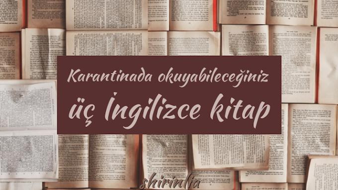 Karantinada okuyabileceğiniz üç İngilizce kitap