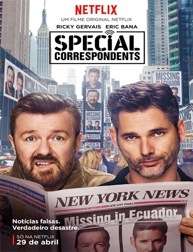 Ver Special Correspondents (2016) Online