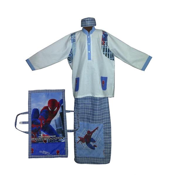 Baju Koko Karakter Spiderman