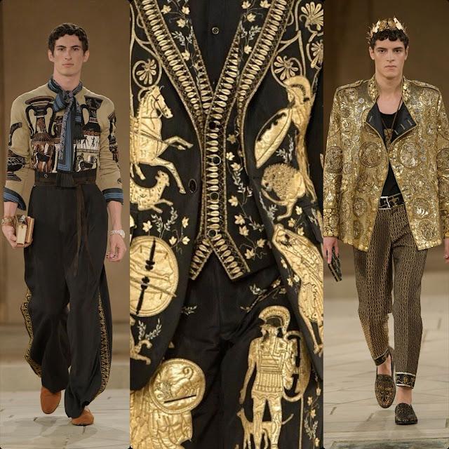 Dolce & Gabbana Alta Sartoria Palazzo dei Gesuiti Sciacca Autunno Inverno 2019-2020 di RUNWAY MAGAZINE
