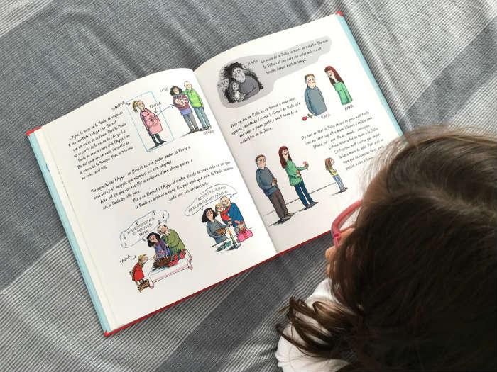 Cuento, libro infantil En familia de Takatuka, diversidad familiar