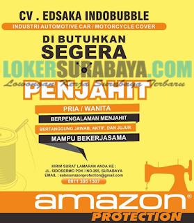 Karir Surabaya Terbaru di CV. Edsaka Indobubble Juni 2019