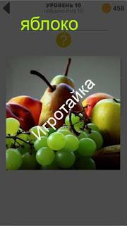 800 слов яблоко ответ на 10 уровень