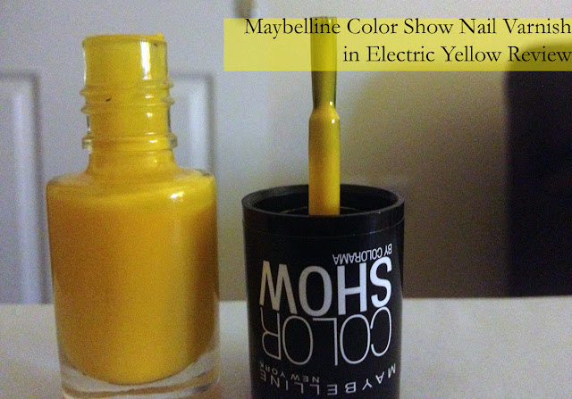 Maybelline color Show Nail Varnish