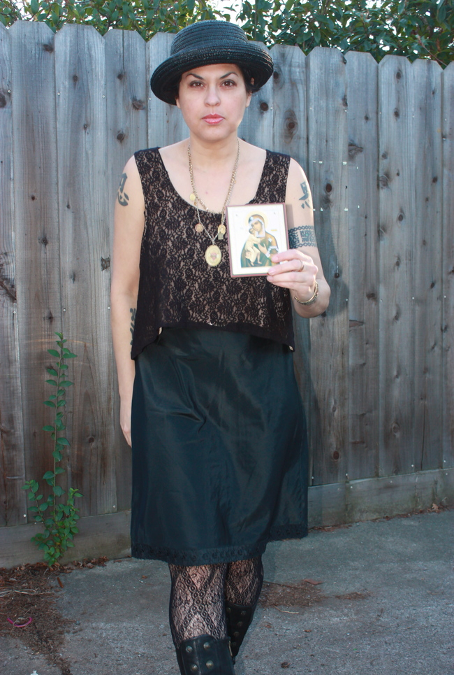 THE CITIZEN ROSEBUD: outfit post: Modern Old-Fashioned