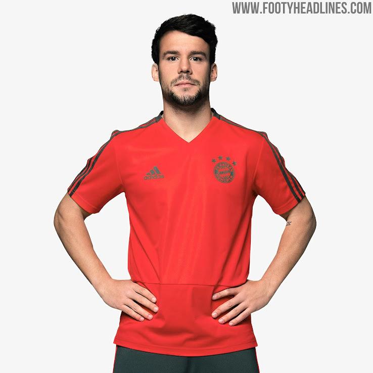 online store 7daeb e95f8 Bayern Munich 18-19 Training Kit Released - Footy Headlines