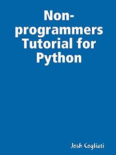 Download PDF Non-Programmer's Tutorial for Python 3 by Josh Cogliati