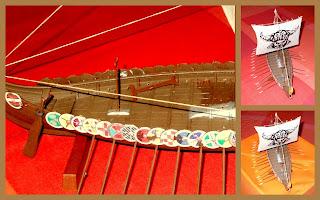 05428; 1:50th Scale; Kensington Olympia Toy Fair; Model Kits; Model Viking Ship; Modelling; New For 2019; New Toy News; Night Color; Revell 05428; Revell GmbH; Revell Models; Revell News; Revell Viking Ship; Small Scale World; smallscaleworld.blogspot.com; Toy Fair 2019; Toy News; Viking Ghost Ship; Viking Long Ship; Warship Model;