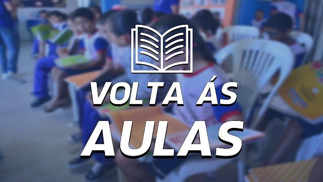 VOLTA ÀS AULAS EM PANELAS-PE