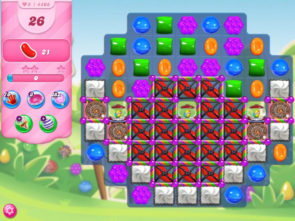 Candy Crush Saga level 4408