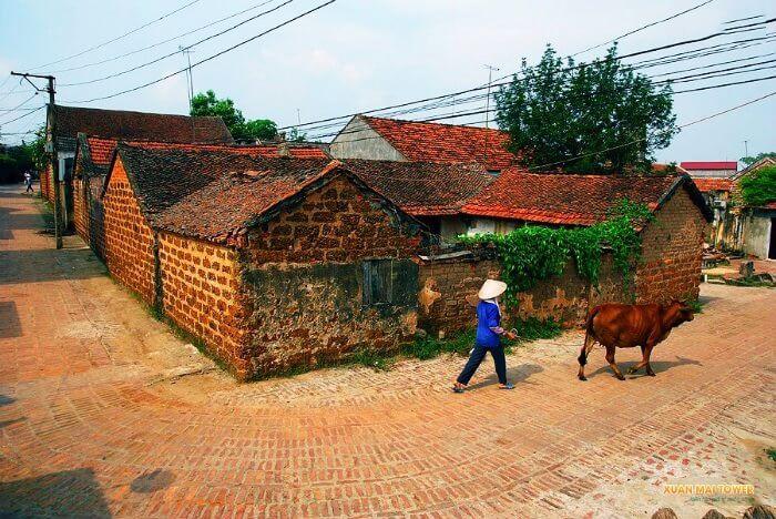 Khu du lịch làng quê tại Làng Đông Sơn