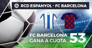 Paston Megacuota Espanyol vs Barcelona 4 enero 2020