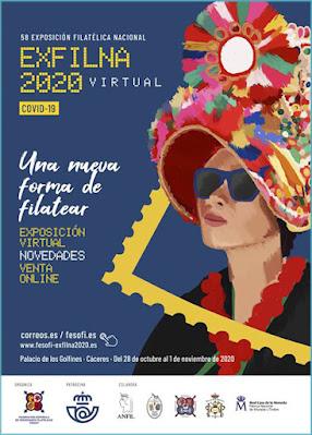cartel, correos, exfilna, 2020, Cáceres