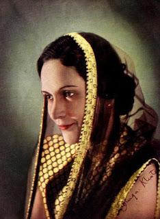 Durga Khote in 1940 film Narsi Bhakt