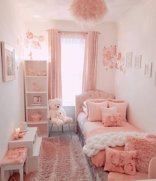 Ide Desain Kamar Tidur Anak Perempuan yang Minimalis Terbaru