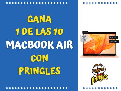 GANA UNA DE LAS 10 MACBOOK AIR CON PRINGLES