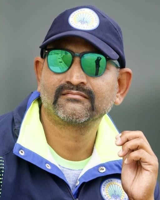 पंकज ठाकुर बने हरियाणा अंडर 19 पुरुष क्रिकेट टीम के मुख्य कोच,मिल रही बधाईयां