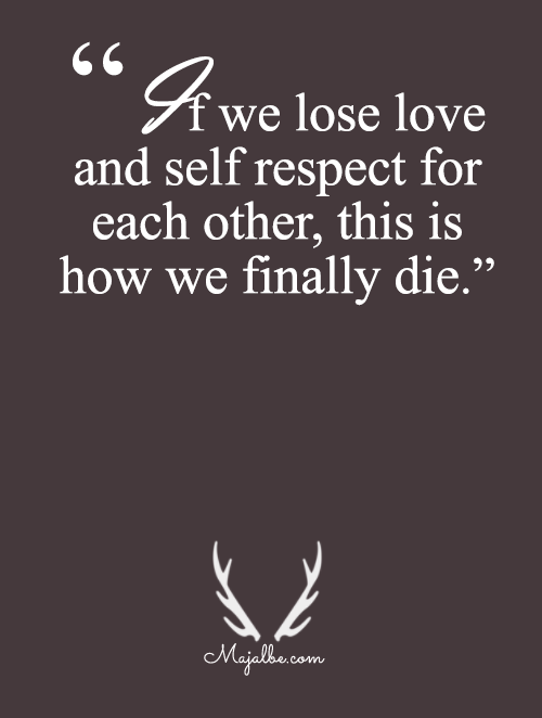 When We Loses Love