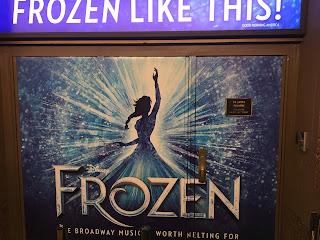 Frozen On Broadway New Logo Door 2020