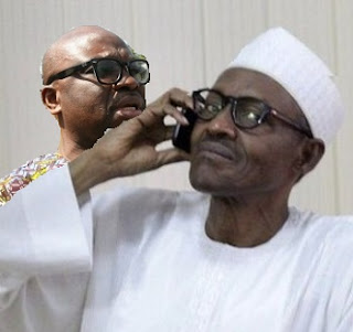 EXPOSED: Recent Telephone Calls Between Buhari And Fayose